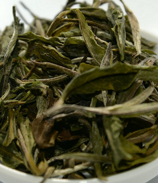 organic white whole leaf tea